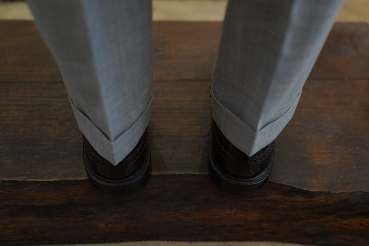 a guide to how trousers should fit styleforum