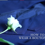 How and When to Wear a Boutonniere