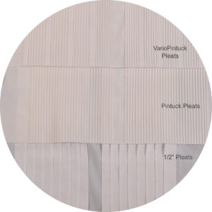 pleats formal shirt construction