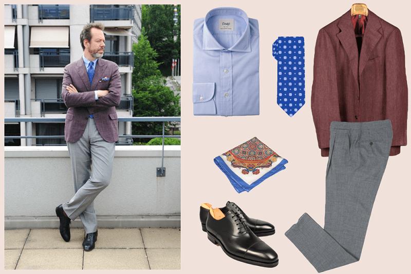 styleforum outfit inspiration diplomatic ties diplomaticties styleforum