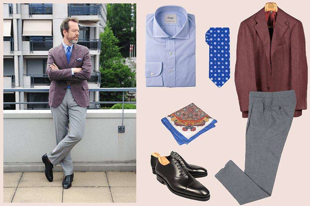 styleforum outfit inspiration diplomatic ties diplomaticties styleforum Inspiration from Diplomatic Ties