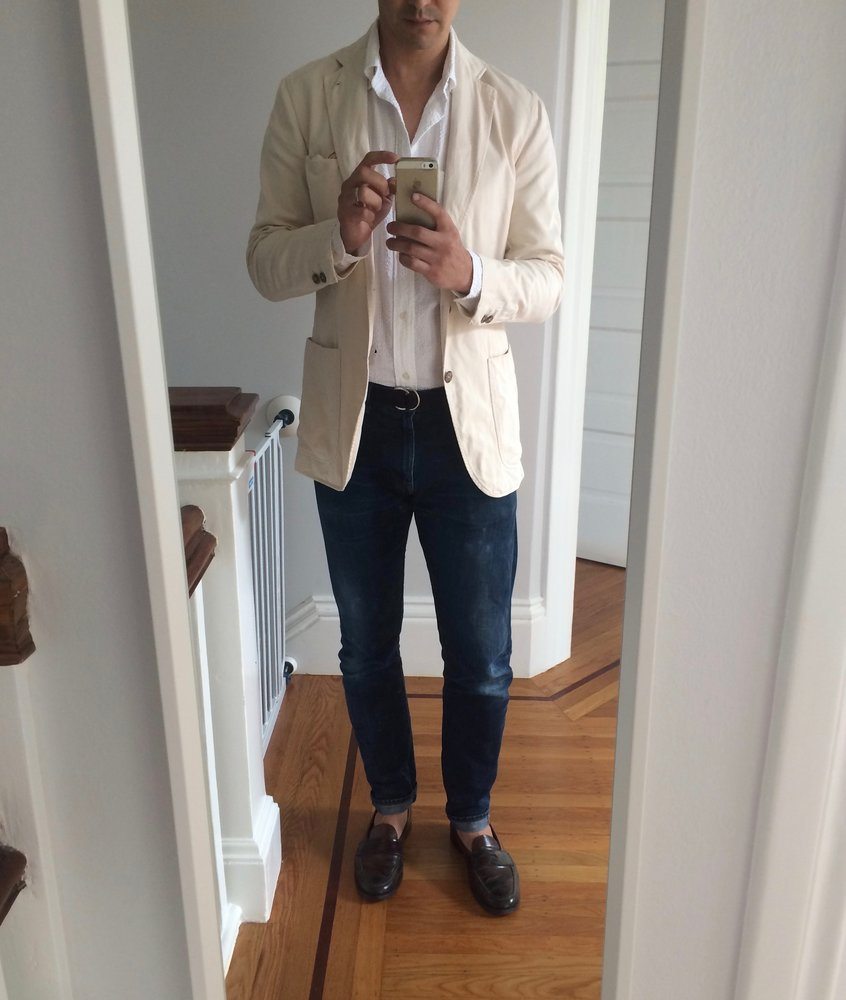 jeans to wear with tailored clothing jeans and blazer jeans with blazer styleforum