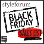 Get Ready for Black Friday on Styleforum!