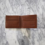 LOTUFF BIFOLD WALLET - CHESTNUT