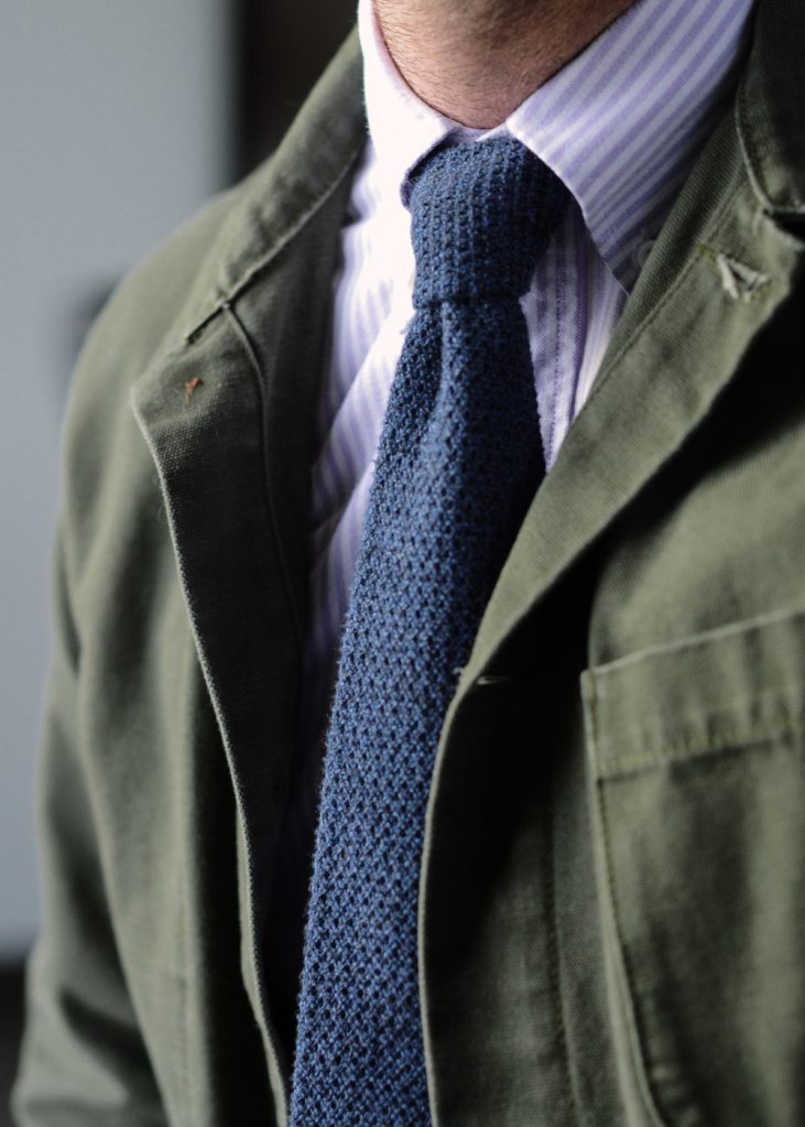 Casual meets Classic Incorporating Casual Outwear field jacket tie