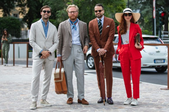pitti uomo 94 streetstyle suit best outfit menswear