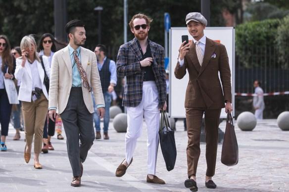 pitti uomo 94 streetstyle florence suits menswear