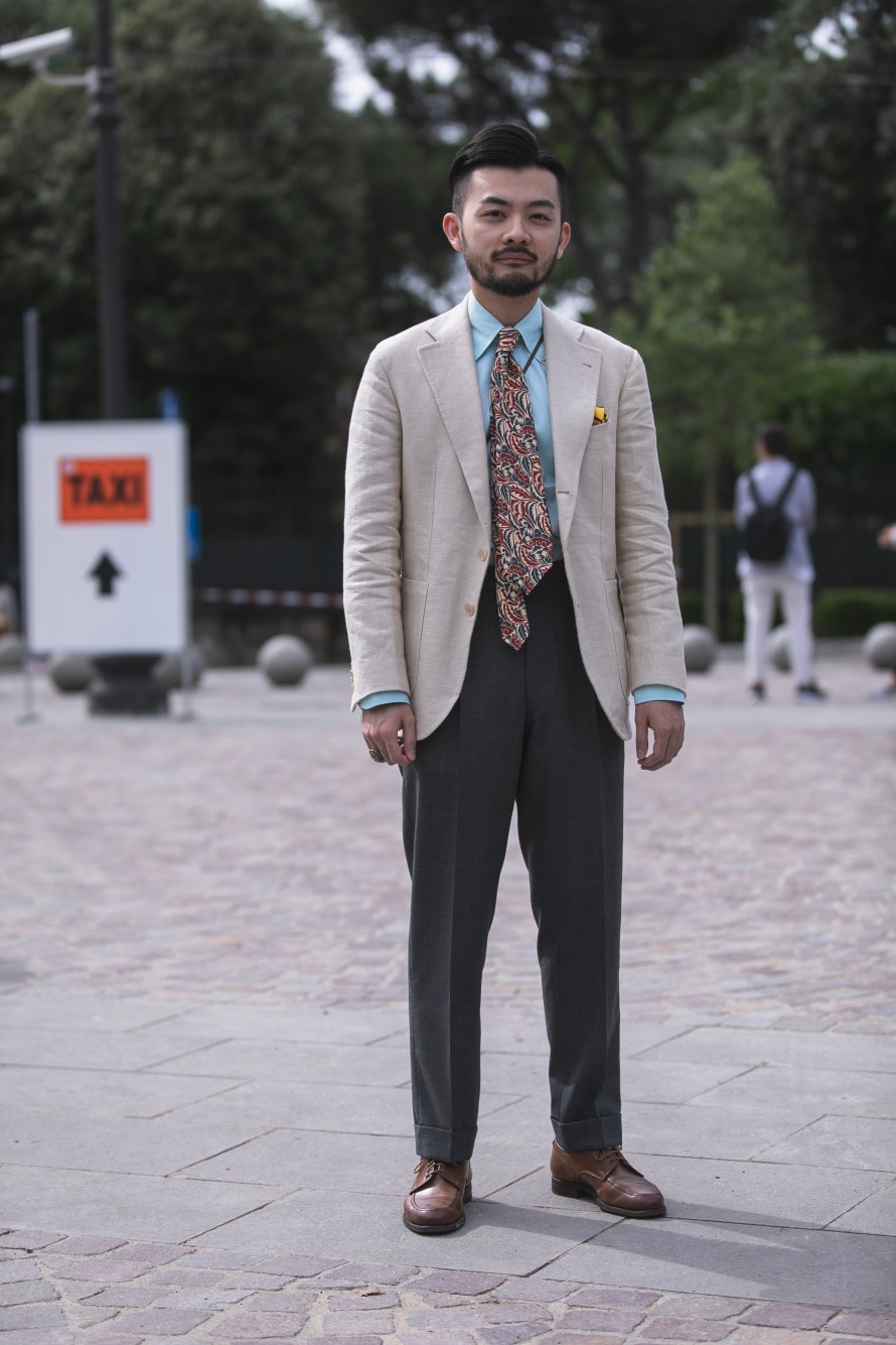 pitti uomo 94 streetstyle suit best outfit men florence