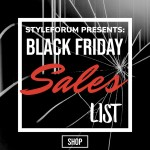 BLACK FRIDAY & CYBER MONDAY MENSWEAR SALES LIST – STYLEFORUM