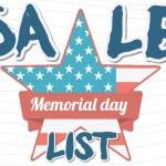Memorial Day Menswear Sales 2019