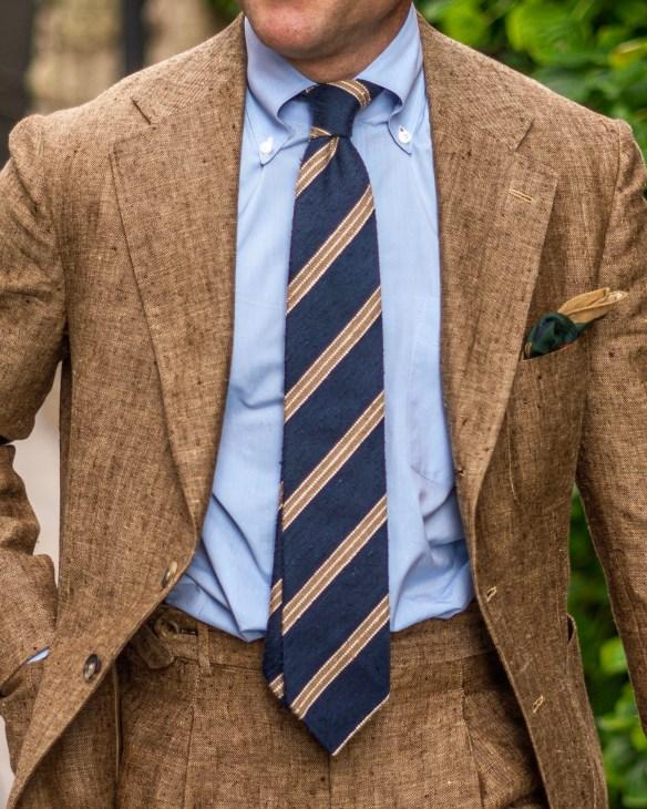 summer tweed fabric