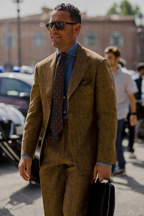 summer tweed pitti uomo