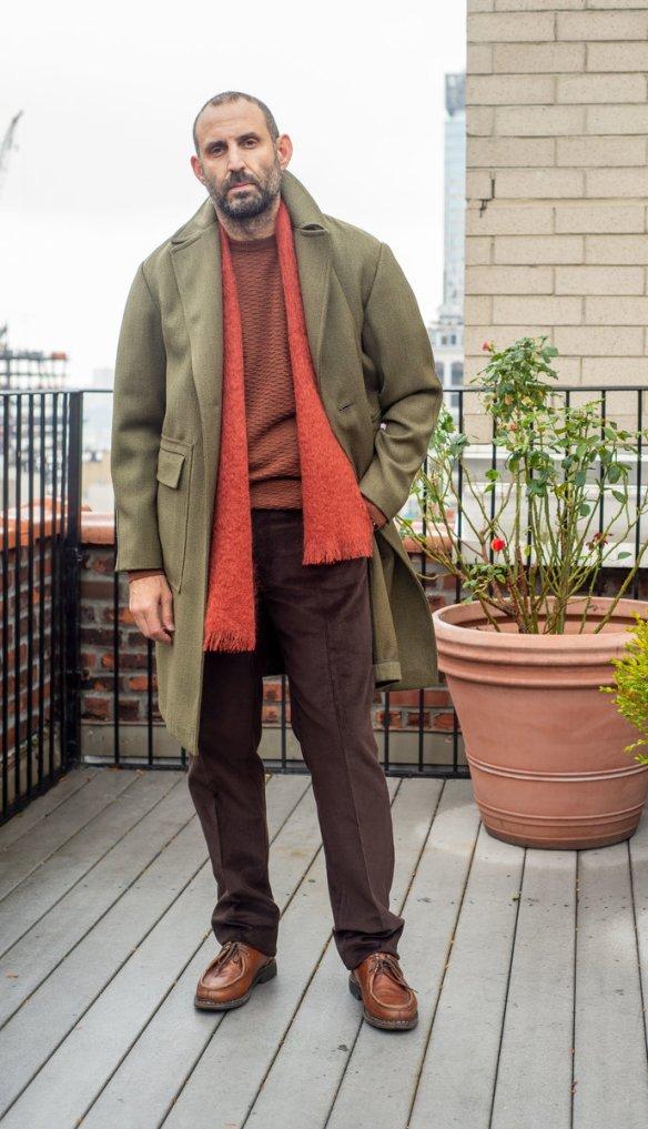 doppiaa overcoat by no man walks alone
