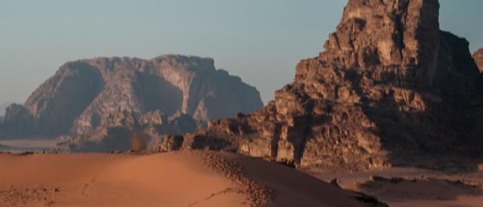 Jordan things to do -Wadi Rum.