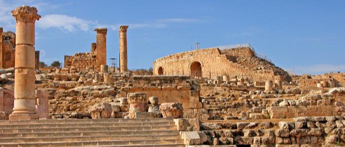 Jordan things to do - Jerash ruins
