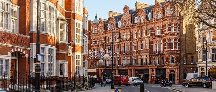 Luxury holiday in London, United Kingdom.