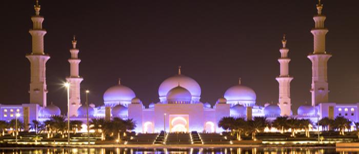 Night scene at Al Karama.
