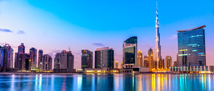 Dubai World's best skyline