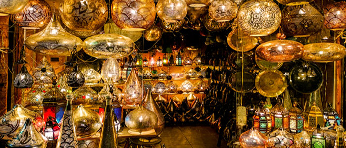 Visit Cairo for traditional Souvenir shopping