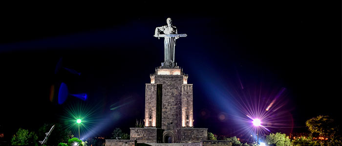 Mother Armenia in Yerevan-Fun time with Family and Kids