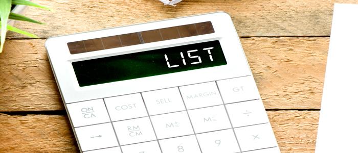 travel hacks - make a list
