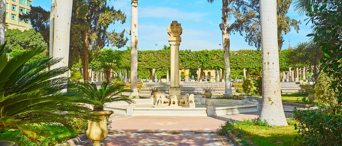 cairo things to do - Al-Andalus Garden