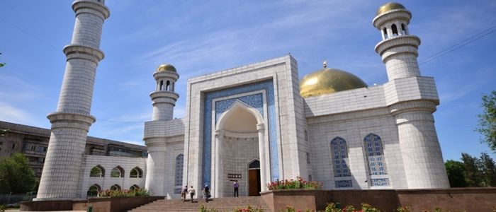 Almaty things to do - Central Mosque
