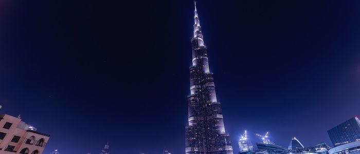 Dubai places to visit - Burj Khalifa
