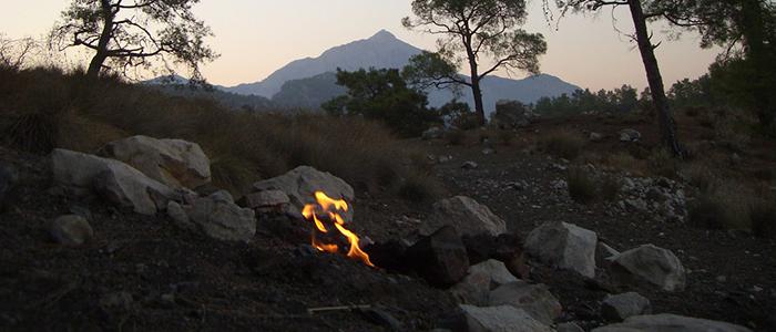 mount chimaera flames