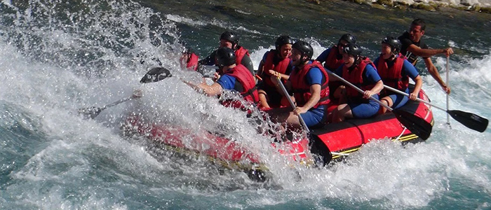 turkey river rafting