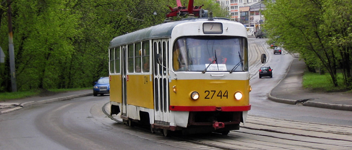 moscow tramway