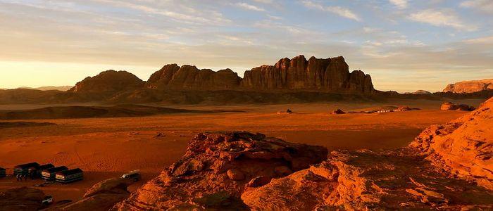 things to do in Jordan - Wadi Rum Sunset