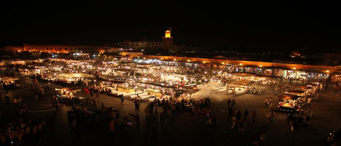 things to do in Morocco_Shop at Jemaa El-Fnaa