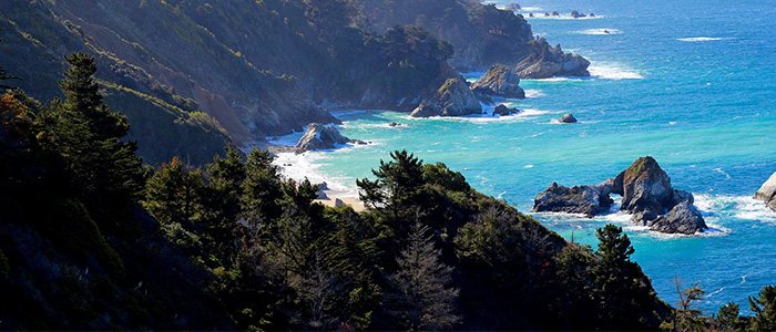 romantic holidays for couples - California