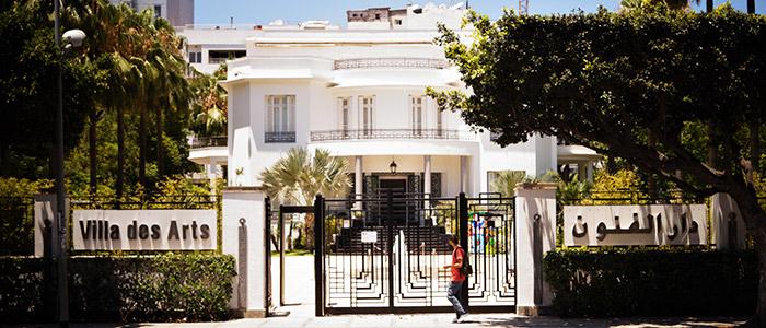things to do in Casablanca - Villa des Arts