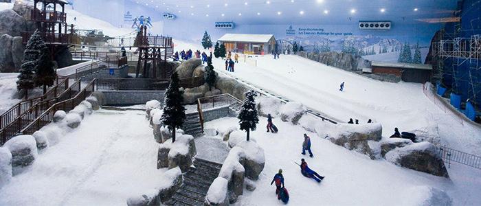ski resort dubai