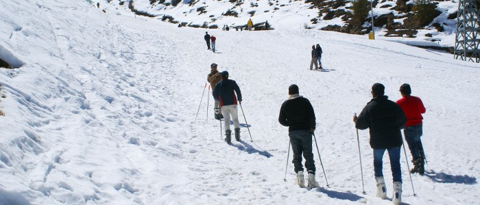 Things to do in India  - Auli skiing