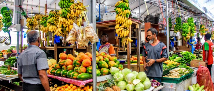 things to do in Maldives - Male street market
