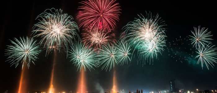 Festivals And Events In Dubai In December: New Year Fireworks Dubai