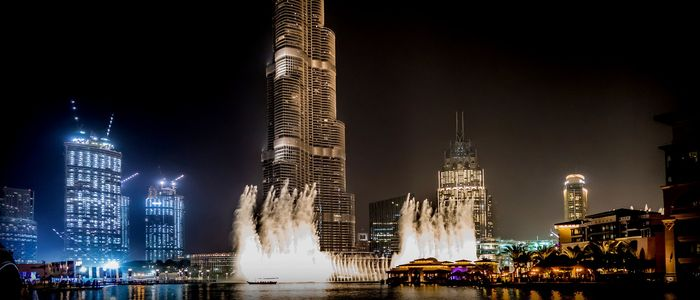 Celebrate National Day In Dubai, UAE - Burj Khalifa Light Show
