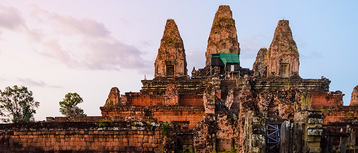 Mountain temple cambodia