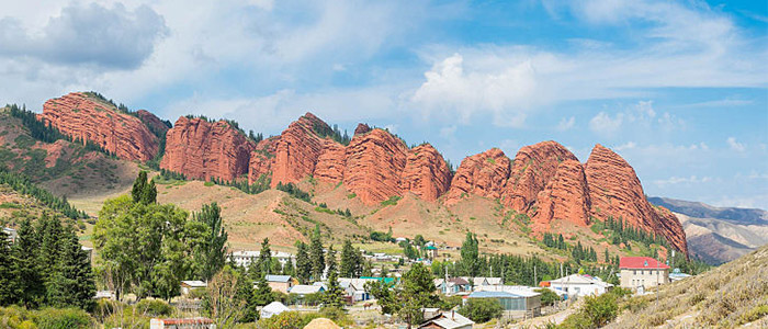 Things To Do In Kyrgyzstan - Seven Bulls Rock