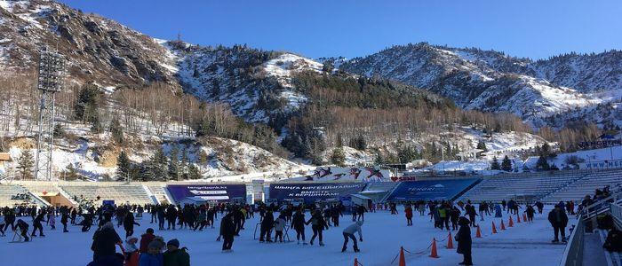 Kazakhstan Tour Activities- Medeo high Mountain