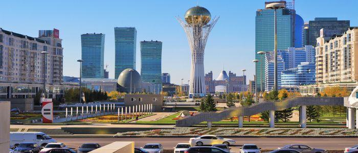Main Activities in Kazakhstan - Baiterek Monument
