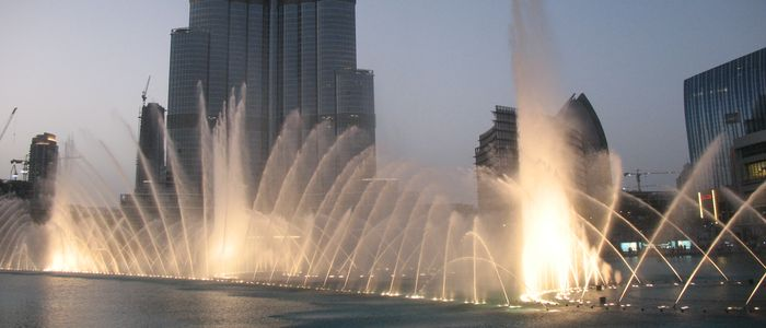 Celebrate Valentine's Day In Dubai  - Light and Water Show