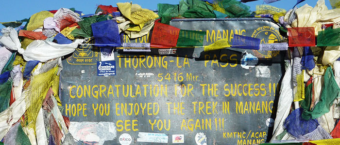 things to do in Nepal - Thorong La