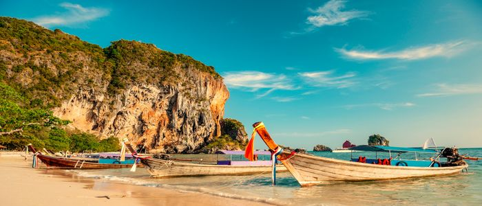 where to travel in February - Thailand