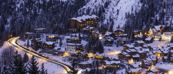 where to travel in January - Courchevel