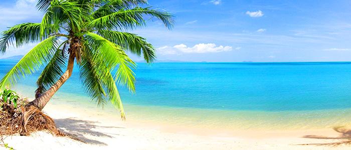 White beaches of Ghana