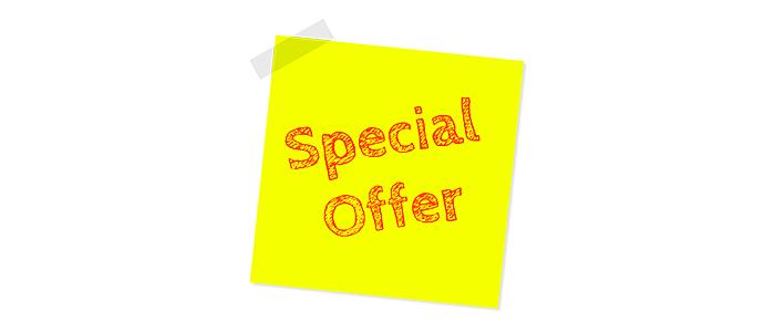 Exclusive discounts and deals